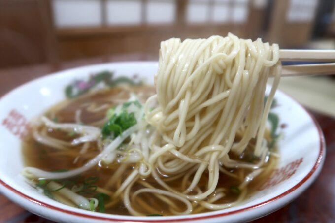 愛媛県今治市「白雅」中華そばは昔ながらのおいしさだった