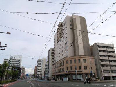愛媛県松山市「ホテルマイステイズ松山」の外観