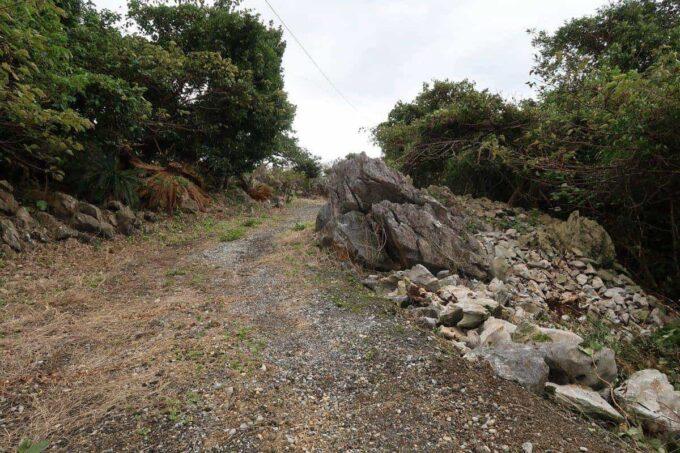 沖縄・本部町「KARST CAMP SITE(カルストキャンプサイト)」数分歩いた先に遊具があると聞いたが、なかなか見当たらない。