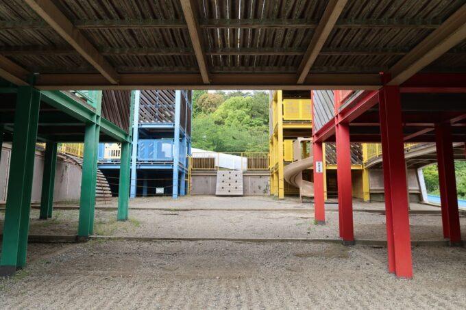 愛媛県松山市「松山総合公園」の坊ちゃん夢ランドの1階部分