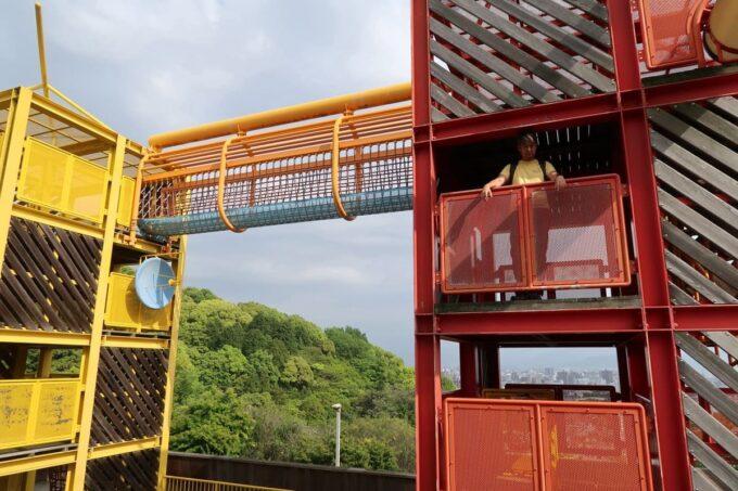 愛媛県松山市「松山総合公園」の坊ちゃん夢ランドでお子サマーがどこにいるかわからない