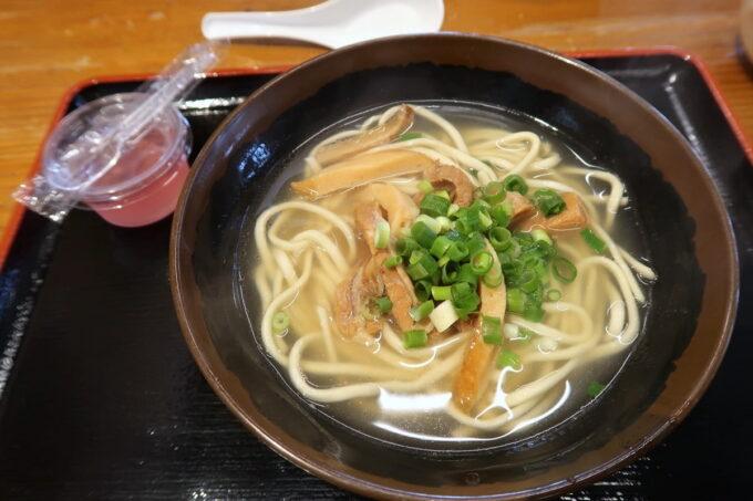 浦添「宮良そば」お子様そば(470円)