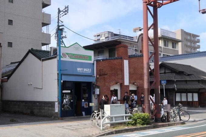 愛媛県松山市「ネイビーベーグルズ(NAVY BAGELS)」の外観