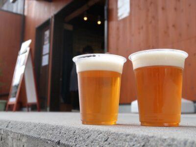 愛媛県今治市大三島「大三島ブリュワリー」のビールをテイクアウトした