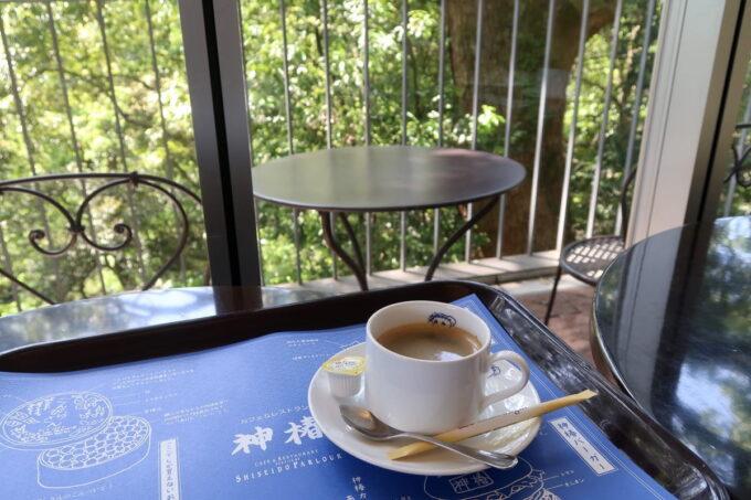 琴平町「神椿」のコーヒー(450円)