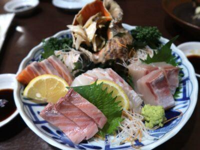 高松市「さかな屋さんの居酒屋 北島商店酒場」お刺身盛り合わせ(