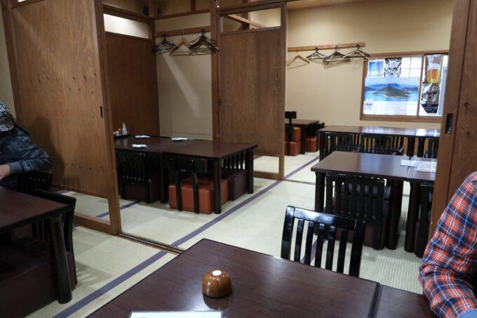 高松市「さかな屋さんの居酒屋 北島商店酒場」2階の客席