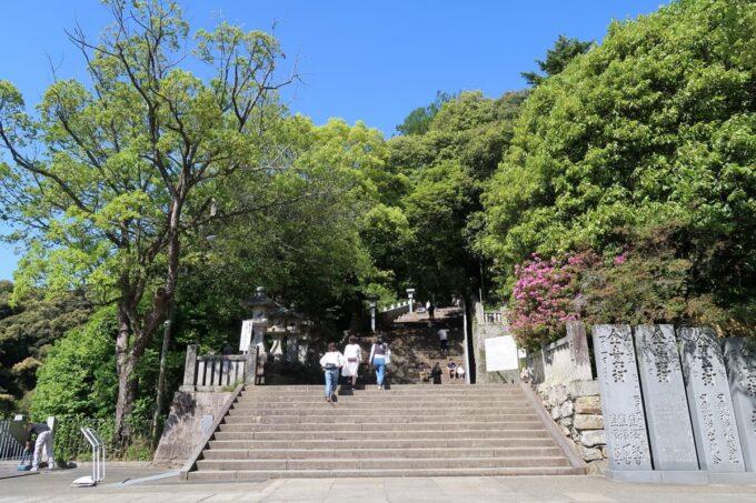 香川・金刀比羅宮を501段目から開始する