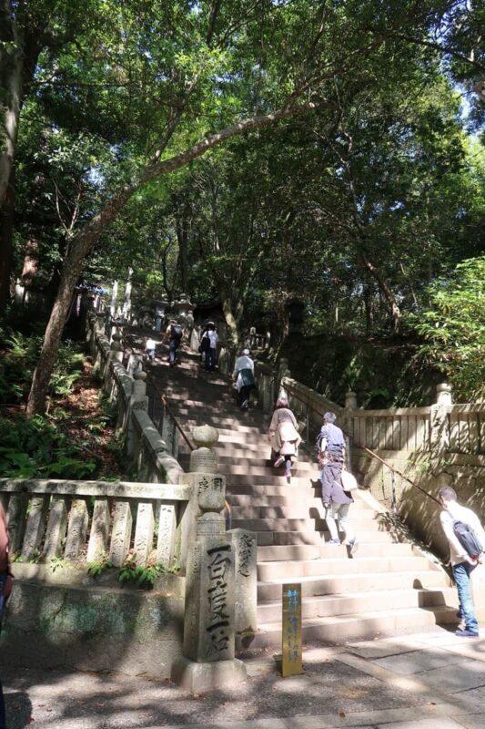 香川・金刀比羅宮の御前四段坂