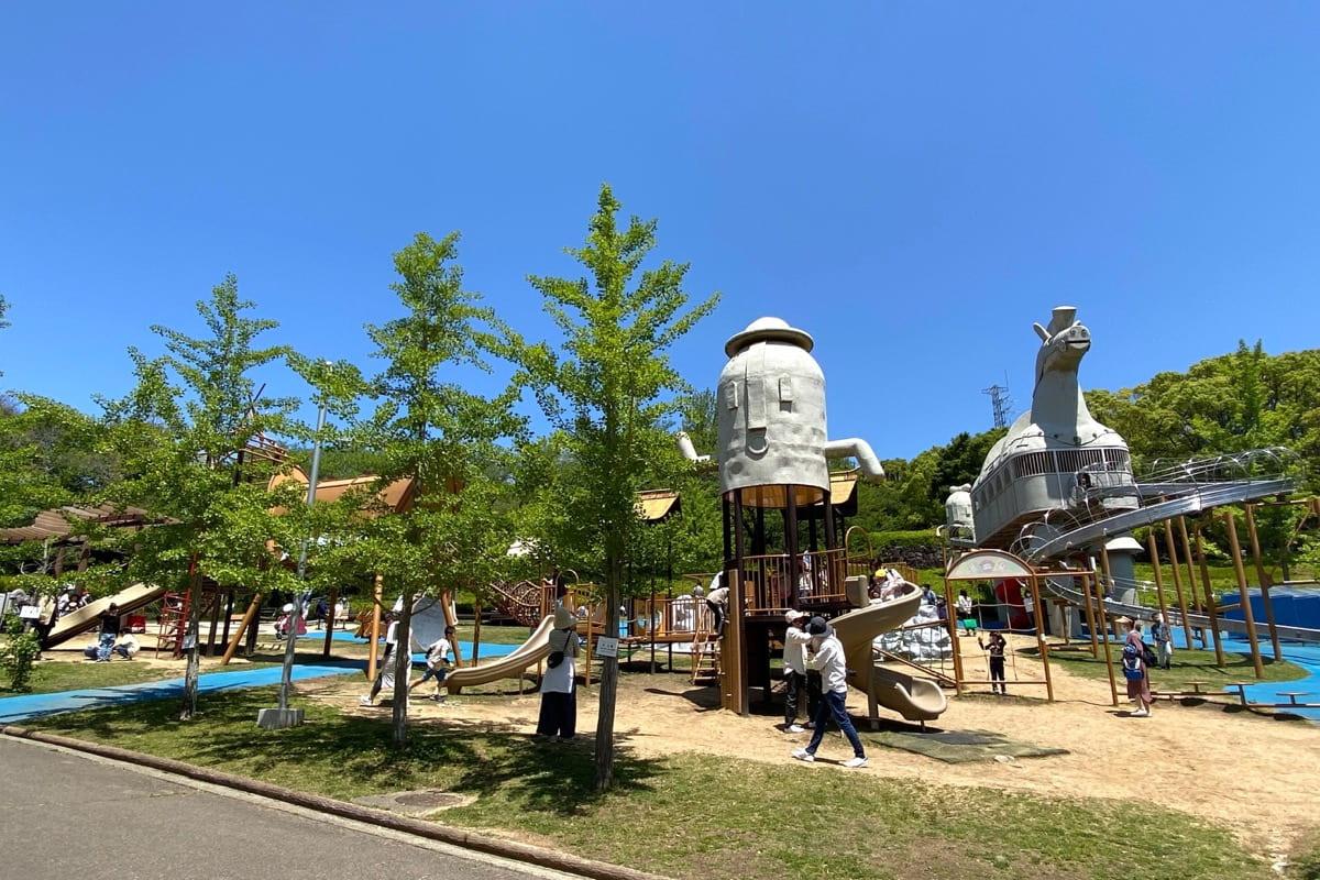 高松市「峰山公園」はにわっ子広場にはハニワが...!