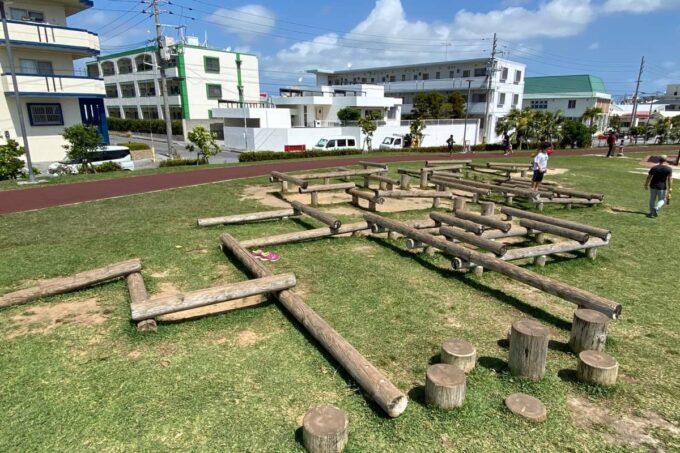 沖縄市「若夏公園」フィールドアスレチック