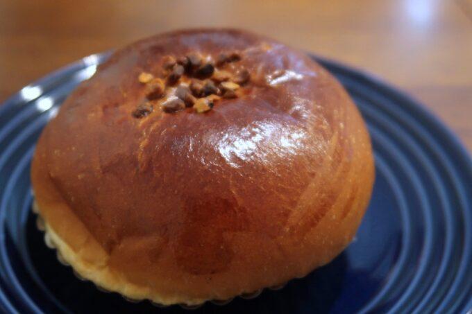 豊見城「Good Morning Bakery(グッドモーニングベーカリー)」プリンクリームパン(160円)