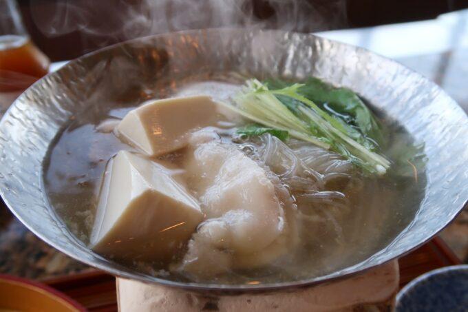 カヌチャリゾート「和食レストラン 神着(かぬちゃ)」和御膳の自然の恵み炊き合わせ