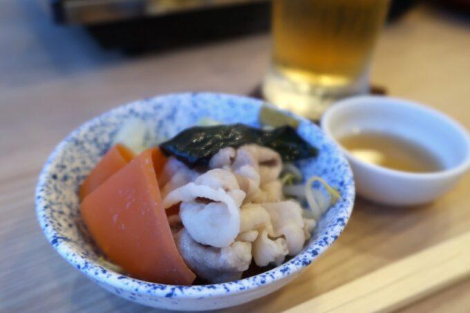 カヌチャリゾート「和食レストラン 神着(かぬちゃ)」そのままでもおいしい