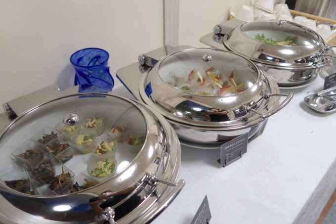 カヌチャリゾート「バーベキューテラス クーワクーワ」のハーフブッフェの一部
